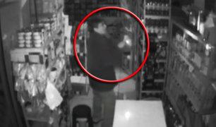 Cámaras captan robos en la ciudad de Trujillo