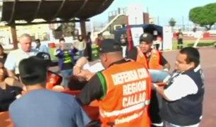 Callao: realizan simulacro de sismo y tsunami