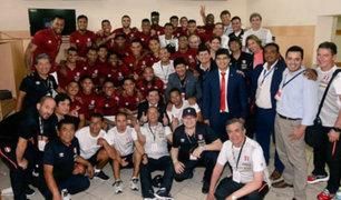 Selección Peruana regresó a Lima y ya piensa en Brasil
