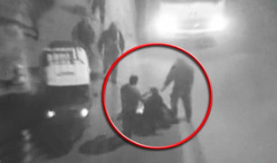 Puno: cámaras captan violentas peleas callejeras