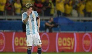 Prensa argentina critica a su selección tras derrota ante Brasil