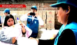 Cantagallo: damnificados recibieron donaciones tras campaña de Panamericana y Adra Perú