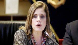 Premier Mercedes Aráoz: Esperemos que la CIDH tome una decisión justa