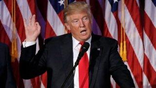 Donald Trump dio su primera conferencia de prensa como presidente electo