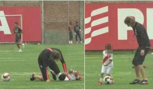 """Selección Peruana: Ricardo Gareca jugó """"pichanguita"""" con hijo de Ñol Solano"""