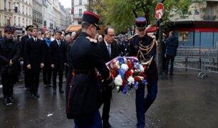 Francia: conmemoran el primer aniversario de los atentados en París