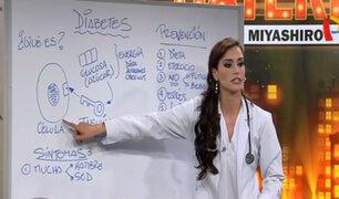 La diabetes: a consulta con la reina Giuliana Zevallos