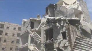 Siria: bombardeos destruyen importante hospital