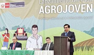 """MINAGRI: lanza """"Agrojoven"""" para universitarios vinculados a actividades agrícolas"""