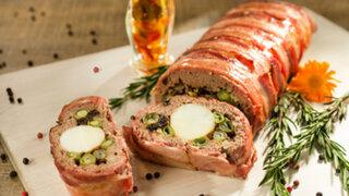 Prepara el delicioso rollo de carne molida en casa con esta sencilla receta