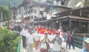 Cusco: bloquean calles y vías de tren durante paro de 48 horas