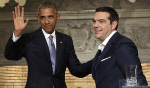 Grecia: Obama realiza última gira internacional en medio de protestas