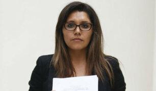 """Lady Guillén: """"Soy una mujer que solo exige justicia"""""""
