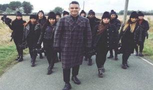 Robbie Williams presentó nuevo sencillo