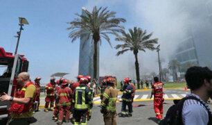 Larcomar: interrogarán a cerca de 40 personas por incendio