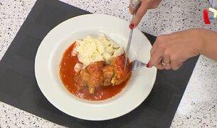 Aprende a preparar pollo a la húngara con esta rica y fácil receta