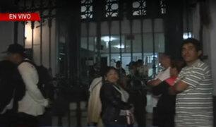 Incendio en Larcomar: restos de víctimas llegan a la morgue