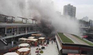 Incendio en Larcomar: imágenes muestran que no se activaron protocolos de evacuación