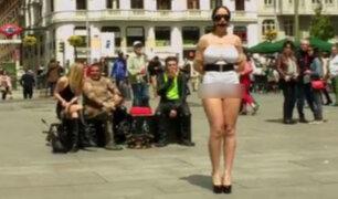 España: Película porno grabada en plena calle de Madrid conmociona a la ciudad