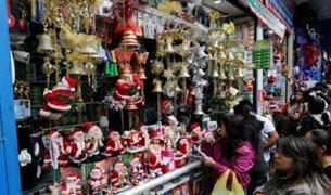 Lima ya vive la Navidad: en busca de las mejores ofertas en Mesa Redonda