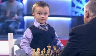 YouTube: El llanto de un niño prodigio tras perder contra un maestro de ajedrez se roba el corazón de Internet [VIDEO]