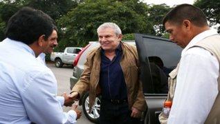 Alcalde Luis Castañeda Lossio fue dado de alta tras infarto