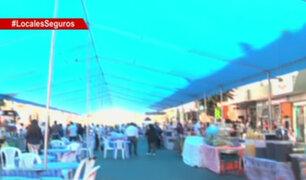 Feria gastronómica en vía pública pone en riesgo a visitantes en Gamarra