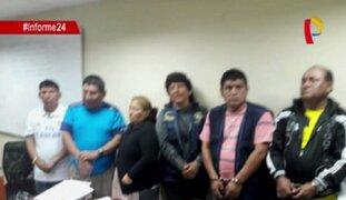 Desarticulan presunta banda de extorsionadores en La Victoria