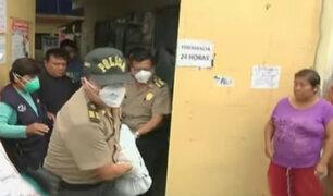 Sobrina de Ángela Leyva murió atropellada en Chorrillos