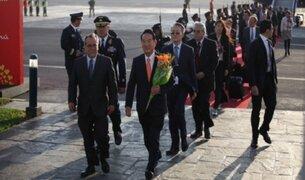 Líderes mundiales arriban al Perú para participar del APEC 2016
