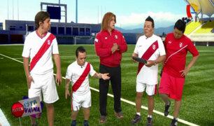 """VIDEO: el """"doble"""" de Gareca y sus cálculos al divertido estilo de """"Paren esta vaina"""""""