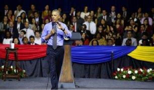 Barack Obama se reunió con jóvenes líderes en la PUCP