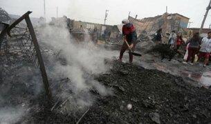 Cantagallo: Fallece niño que sufrió quemaduras en incendio