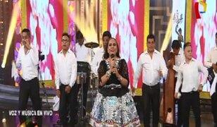 Porque Hoy es Sábado: Dina Paucar deleitó al público con sus mejores éxitos