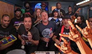 Facebook: Metallica toca 'Enter Sandman' con juguetes y es lo más loco y genial que cualquier fan del thrash debe escuchar [VIDEO]