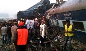 India: más de 100 muertos deja descarrilamiento de tren