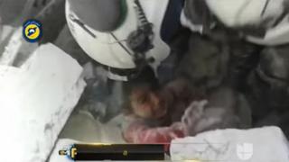 Impactantes imágenes de nuevo bombardeo en hospital de Siria