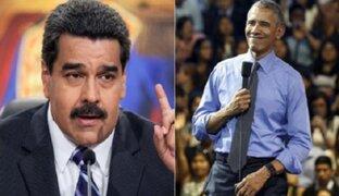 """Nicolás Maduro: """"Obama fue a hablar tonterías de Venezuela en Perú"""""""