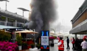 Incendio en Larcomar: pánico y dolor en el centro comercial más visitado de Lima