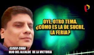 Calles al mejor postor: hijo de alcalde de La Victoria involucrado en negociado