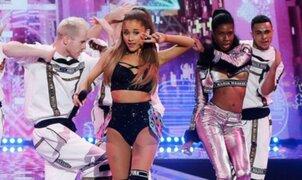 American Music Awards: Ariana Grande ganó premio a 'Mejor Artista del Año'