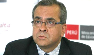 Ministro Jaime Saavedra sería interpelado en el Congreso