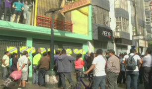 Gamarra: comerciantes denuncian que clausura de galerías es por represalia