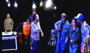 """Pablo Saldarriaga presentó musical """"El Che y los Rolling Stones"""""""