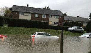 Reino Unido: tormenta 'Angus' causa inundaciones