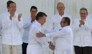 Colombia: acuerdo de paz se firmará el jueves