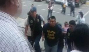 """Cercado de Lima: caen """"marcas"""" que pretendía asaltar supermercado"""