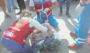 Menor de 15 años murió tras ser atropellada en Huánuco