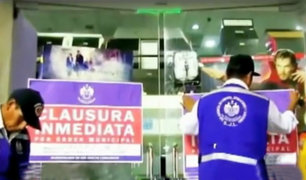 Clausuran cadenas de cines por incumplir normas de seguridad