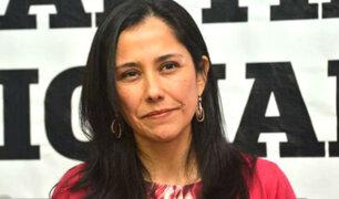 Poder Judicial decidirá este viernes si Nadine Heredia cambia su domicilio a Ginebra